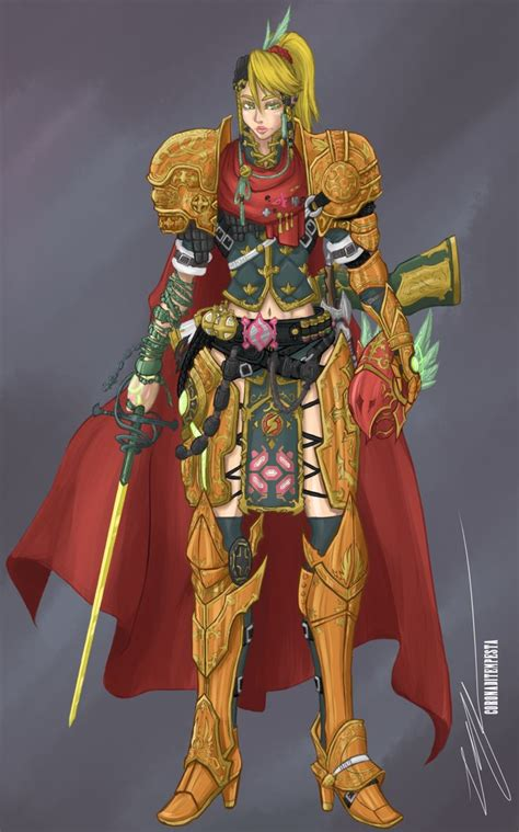 Samus Aran Mystic Knight By Coronaditempesta On