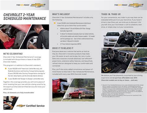 Chevrolet 2year Scheduled Maintenance Plan  Fayetteville, Nc
