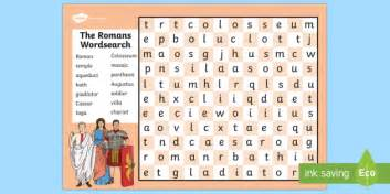 maths addition problems the romans wordsearch romans history history