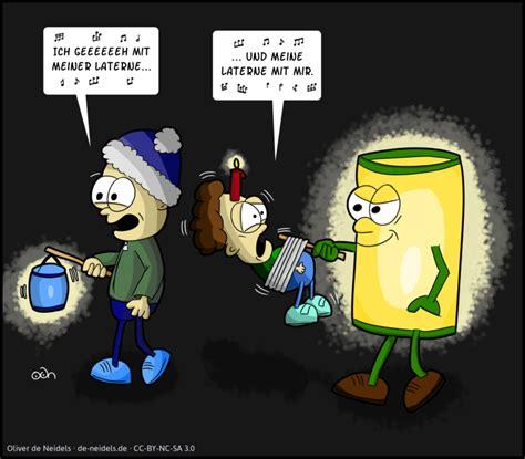 ich geh mit meiner laterne comics von oliver de neidels