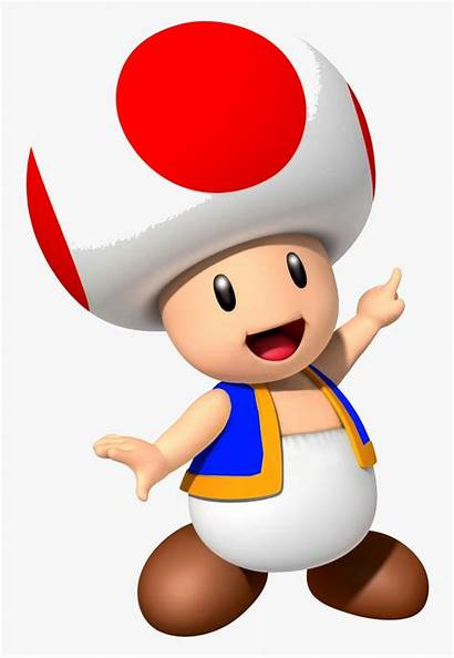 Toad Mario Yellow Super Bros Party Characters