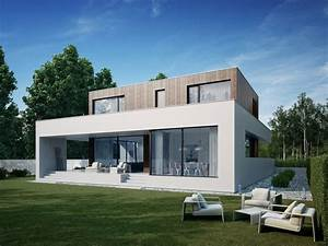 modern, wooden, cube, house, by, 81, waw, pl, 8