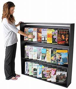 This Black Magazine Rack is Perfect for Retail Stores ...