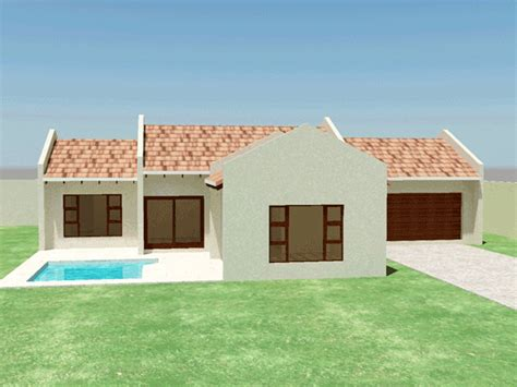 Small House Plan  3 Bedroom House Plans TR158