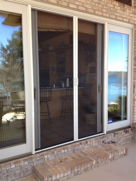 retractable screens for doors traditional screen doors