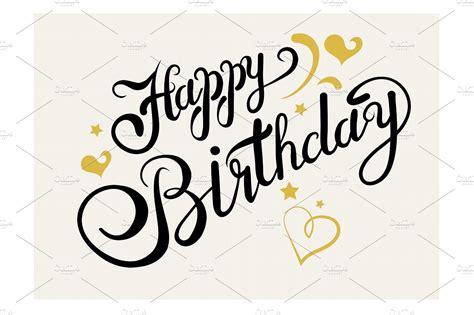 happy birthday fonts     carwadnet