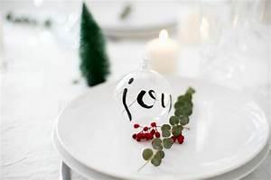 Christbaumkugeln Selber Gestalten : christbaumkugeln mit lettering gestalten zu weihnachten ein hightlight ~ Frokenaadalensverden.com Haus und Dekorationen