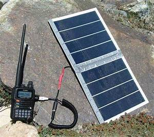 Солнечная батарея в горах