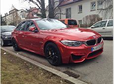 Sakhir Orange BMW F80 M3 Is All You Can Wish For