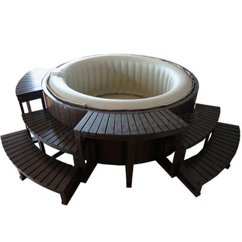 intex air habillage composite pour spa gonflable 6 places