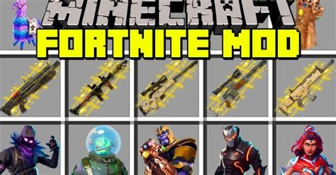 fortnite mod   items  fortnite game