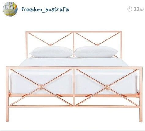 Wall Decor Target Australia by Freedom Gold Bed Pleeeeeaaasseee For The Home