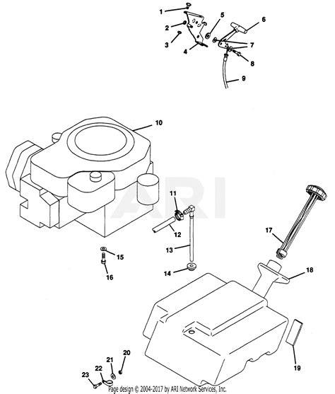 Sear 26 Kohler Engine Electrical Diagram by Gravely 52627 Gem 14hp Kohler Hydro Drive Parts Diagram