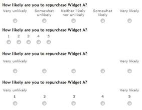 5 Point Likert Scale Example