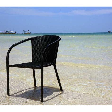 fauteuil jardin resine tressee fauteuil de jardin en r 233 sine tress 233 e mod 232 le bora wood en stock