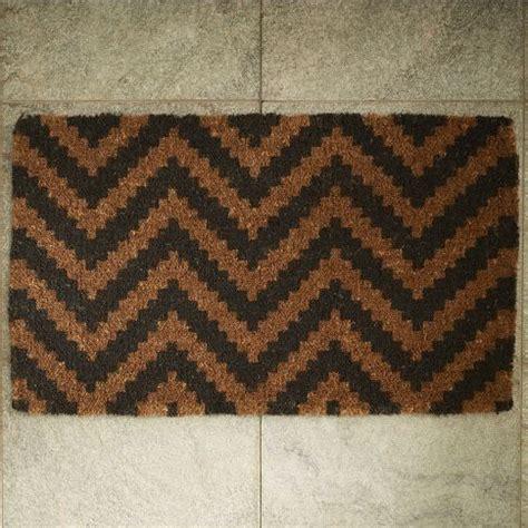 west elm doormat this chevron doormat from west elm can add that bit of