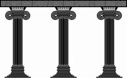 Columns Three Clipart Column Svg