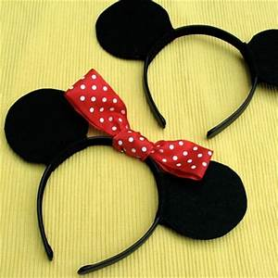 template for minnie mouse ears - mickey minnie ears disney family