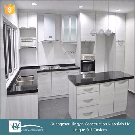 pvc kitchen cabinet doors estilo moderno branco pvc cozinha arm 225 portas de 4463
