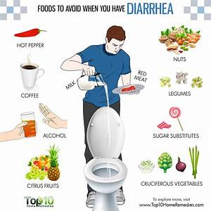 10 Foods To Avoid When You Have Diarrhea
