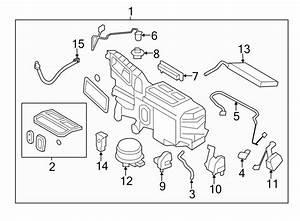 Ford Edge Hvac System Wiring Harness  W  O Dual Zone  W