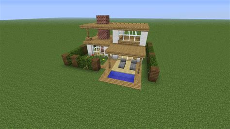 Minecraft House Step By Step Pictures