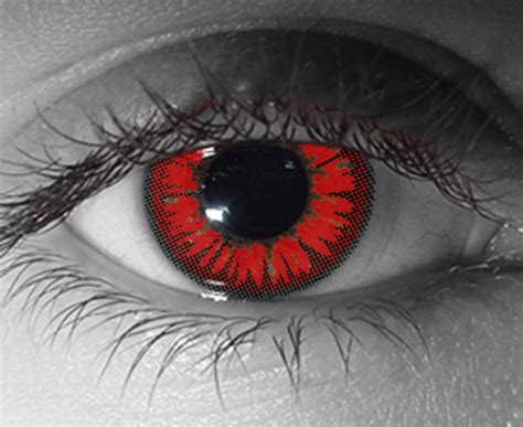Cheap Prescribed Halloween Contacts by Red Colored Contacts Non Prescription Neiltortorella Com