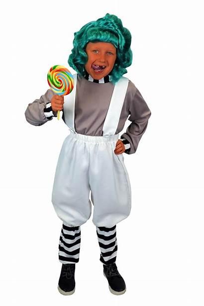 Oompa Loompa Child Costume Choose Option
