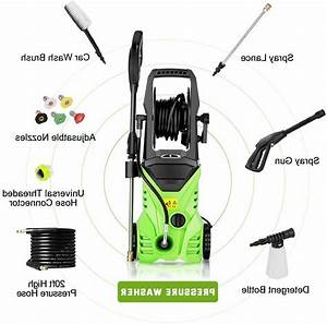3000psi 1 8gpm Electric Pressure Washer Home Power Cleaner