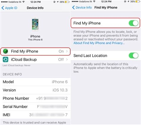 how to remove find my iphone disable find my iphone on restore using icloud iphone is