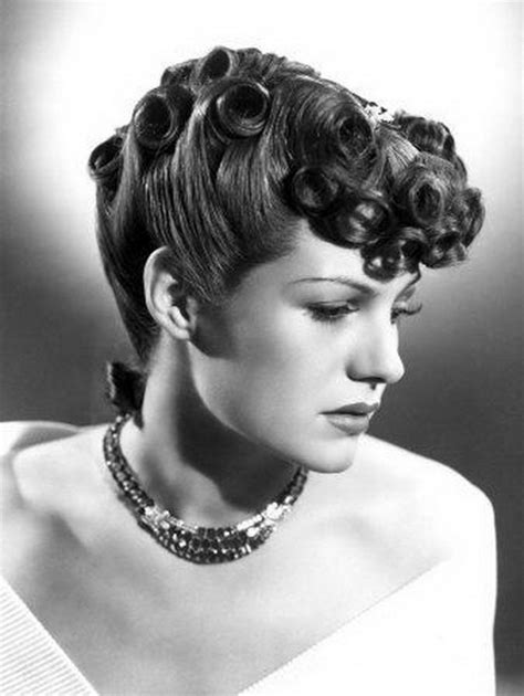 1940s Hairstyles Updo by 1940s Hairstyles For Hair