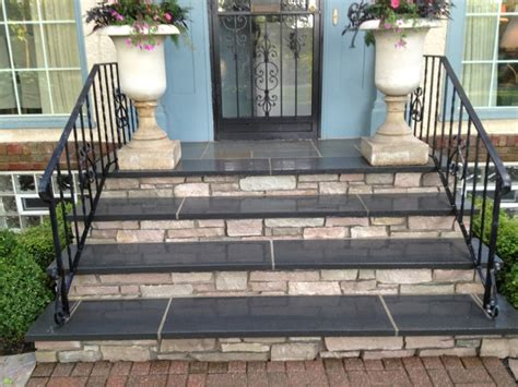 front entry steps pictures front steps and walkways traditional entry minneapolis by english stone