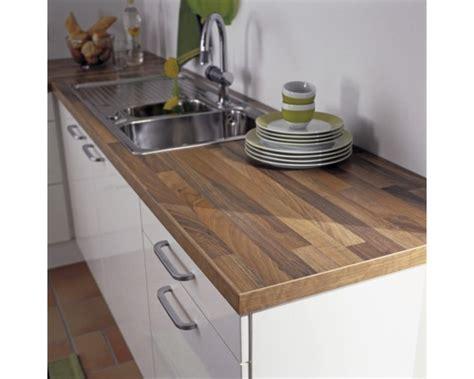 Küchenarbeitsplatte Piccante Walnuss Block 4100x600x38 Mm
