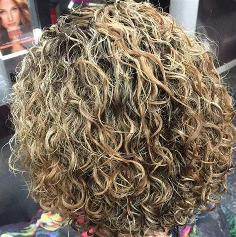 image result  stacked spiral perm  short hair short