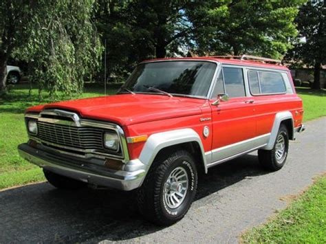 old jeep cherokee models purchase used rare classic 1979 jeep cherokee cheif s