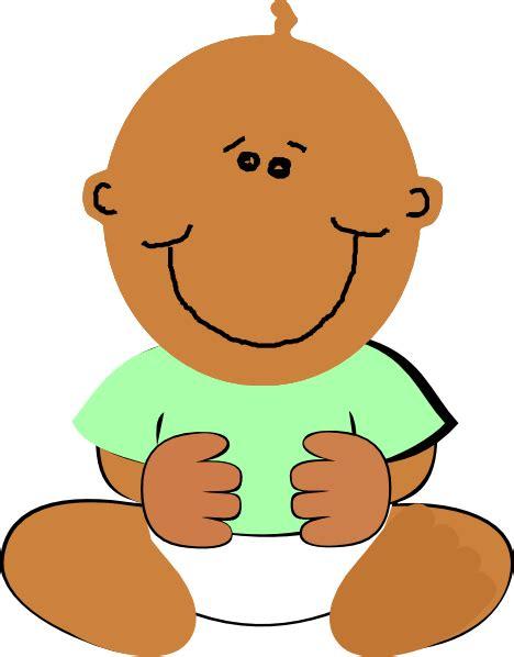 baby clipart black baby clip at clker vector clip