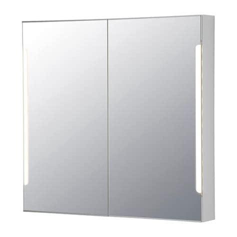 bathroom cabinet with sink storjorm mirror cabinet w 2 doors light ikea