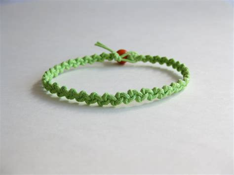 Beginners Knotted Bracelet Tutorials Two Patterns Pdf Step