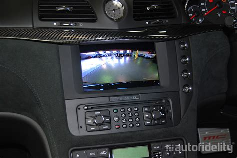 Integrated Rear Camera System For Maserati Granturismo