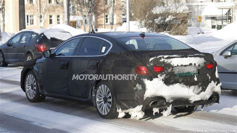 kia  sedan spy shots
