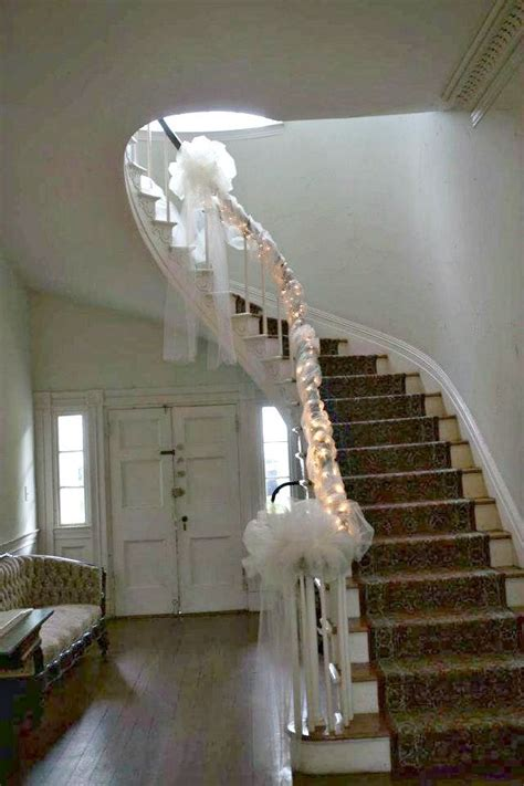 image result for wedding staircase decoration ideas