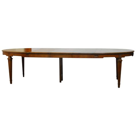 baker dining room table baker french collection walnut dining table at 1stdibs