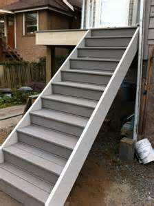 deck stairs to patio deck design and ideas