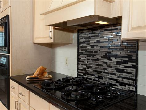 kitchen backsplash metal medallions granite countertops hgtv