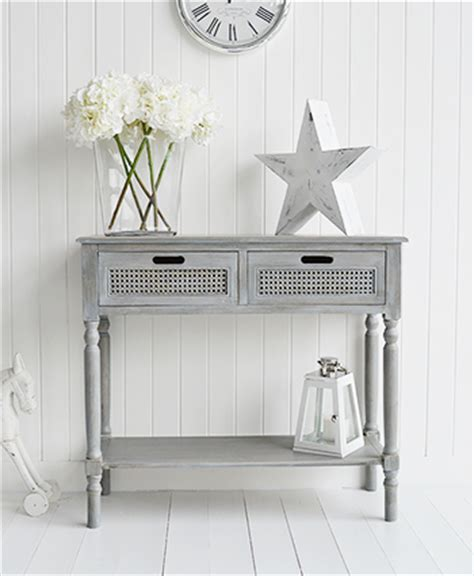 grey entryway table colonial furniture range in grey console table