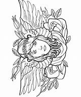 Coloring Pages Tattoo Gypsy Designs Modern Dover Publications Adult Printable Colouring Tattoos Easy Female Tatoo Welcome Creative Adults Haven Sheets sketch template
