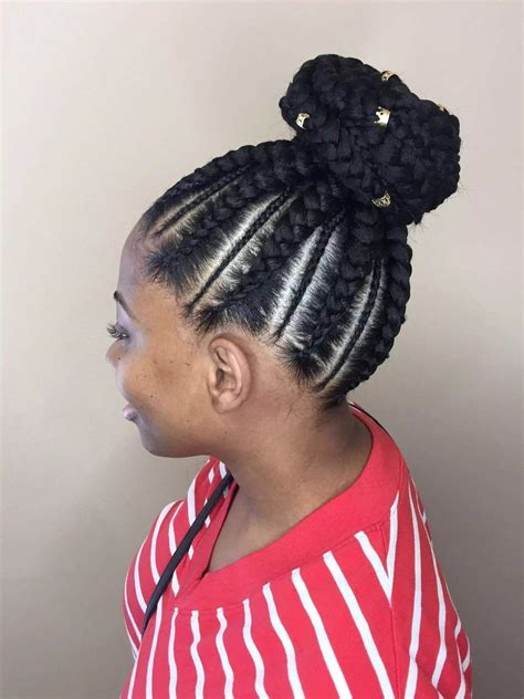 Cornrow Updos Hairstyles by 20 Cornrow Braid Hairstyles With An Updo Tuko