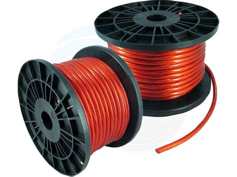 100ft 8ga 8awg cca power cable wire heat resistance