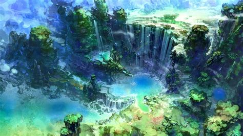 Beautiful Anime Wallpaper Hd - anime nature wallpapers wallpaper cave