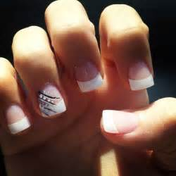 Nail design natural nails and cute gel on
